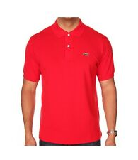 Polo Lacoste L1212 240 t7 red rouge cotone classic fit