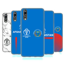OFFICIAL ICC AFGHANISTAN CRICKET WORLD CUP SOFT GEL CASE FOR HUAWEI PHONES