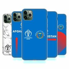 OFFICIAL ICC AFGHANISTAN CRICKET WORLD CUP SOFT GEL CASE FOR APPLE iPHONE PHONES
