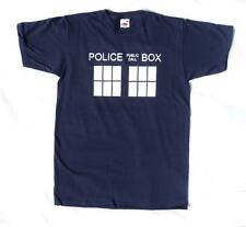 Police Box Navy Blue T Shirt, Great for fans of Doctor Who T Shirt