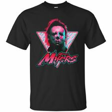 Halloween Michael Myers Face Men's T-shirt Horror Scary Movie Short Sleeve S-3XL