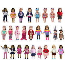 Doll Clothes for 18 Inch American Girl Doll Our Generation Dolls Dress Up Accs