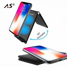 New Qi Wireless Charger for iPhone X 8 Samsung Galaxy S9 S8 S7 S6 Edge Phone
