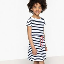 La Redoute Collections Girl Striped Dress, 312 Years