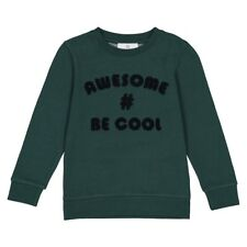 La Redoute Collections Boy Sweatshirt With Boucle Motif, 312 Years