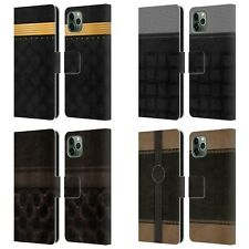 OFFICIAL ALYN SPILLER LUXURY LEATHER BOOK WALLET CASE FOR APPLE iPHONE PHONES