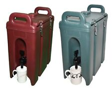 CAMBRO 2 1/2 gal Insulated Hot Cold Beverage Dispenser Camtainer - Pick Ur Color