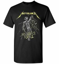 Metallica and Justice for All Tracks T-Shirt