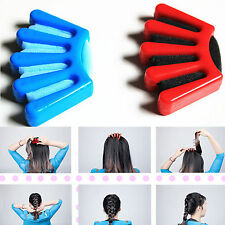 Plait Hair Styler Tool Plaiting Made Easy French Braid Sponge Holder Braider Gv