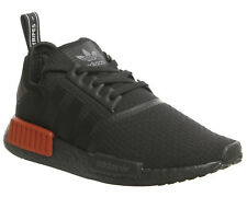 Adidas Nmd R1 Trainers Core Black Lush Red Trainers Shoes
