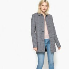 La Redoute Collections Womens Jacquard Coat
