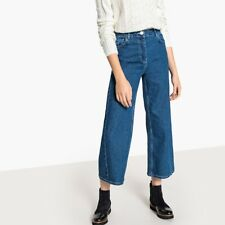 La Redoute Collections Womens Ankle Grazer Bootcut Jeans, Length 26