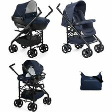 Trio Chicco Sprint Black Azul Passion