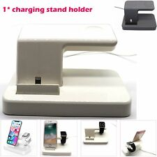 2 in 1 Charger Dock Stand Holder Station For iPhone Apple Watch 14.5x 10 x 8cm