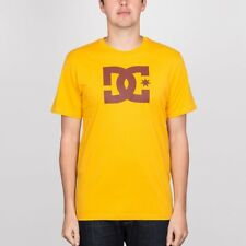 DC Star Tee Old Gold/Fired Brick