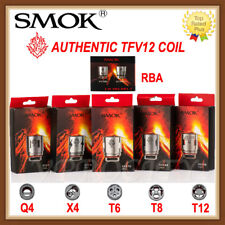 Authentic 1SMOK1 TFV12 Replacement Coils - V12 Q4 X4 T6 T8 T12 RBA Glass