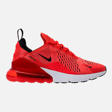 New AUTHENTIC Nike Air Max 270 Red Habanero Red Black White AH8050 601 men size