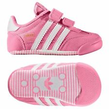 adidas ORIGINALS BABIES DRAGON L2W CRIB SHOES TRAINERS PINK GIRLS KIDS  FASHION 19c6c38a6