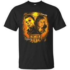 Michael Myers T-shirt Halloween Horror Scary Movie Short Sleeve S-3XL