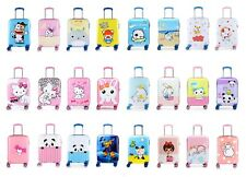 Children Kids Disney Travel Hard Shell Wheel Suitcase Cabin Luggage Trolley Bag