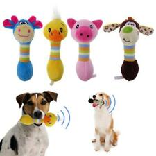 Cute Pet Dog Toys Chew Squeaker Animals Plush Puppy Honking Squirrel For Pet