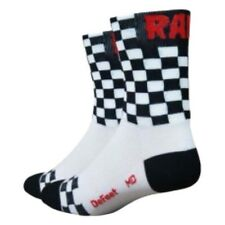 Defeet Aireator Checkmate White , Calcetines Defeet , ciclismo , Ropa hombre