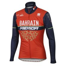 Sportful Bahrain Merida Partial Protection Winter Jacket Red / Blue Sportful