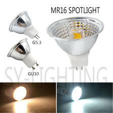 10x GU10 G5.3 LED Lamp MR16 spot light 5W COB Dimmable Bulb White Warm 110/220V