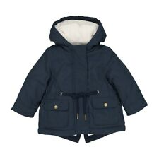 La Redoute Collections Girl Fleecelined Hooded Parka, 3 Months3 Years