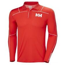 Helly Hansen Lifa Active Light Polo L/s Rojo , Ropa interior Helly hansen