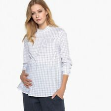 La Redoute Collections Womens Longsleeved Printed Maternity Blouse