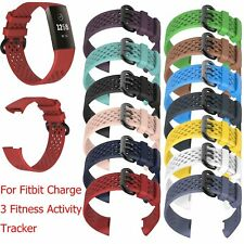 S/L Size Wrist Band Sports Strap for Fitbit Charge 3 Fitness Activity Tracker