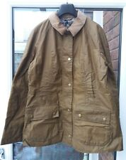 BNWT Womens Barbour 4oz Lightweight Beadnell Wax Jacket UK10 12 Sand LWX0827SN31