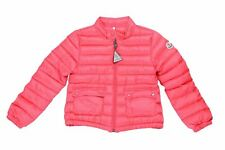 "Moncler Kid's ""LANS"" Pink Down Light Parka Jacket Moncler Size 6A 12A  US 6 12"