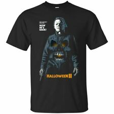 Michael Myers Halloween II T-shirt Halloween Horror Movie Tee Shirt Short Sleeve