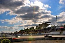 Motor racing action at Le Mans 24Hours 2016 photograph picture poster print art