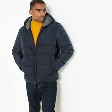 La Redoute Collections Man Dual Fabric Hooded Padded Jacket