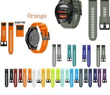 Fashion Quick Release Easy Fit Silicone Watchband WristStrap for Garmin Fenix 5