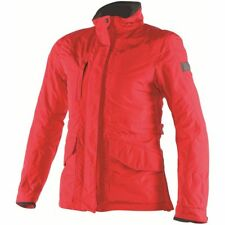 Dainese Jade Mujer Gore-Tex Textil Chaqueta Impermeable Rojo