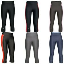 2018 Under Armour Mujer Heatgear Pantalones Capri Leggings Entrenamiento