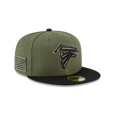 New Era NFL ATLANTA FALCONS Salute to Service 2018 Sideline 59FIFTY Game Cap NEU