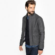 La Redoute Collections Man High Neck Wool Mix Jacket