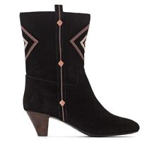 La Redoute Collections Womens Leather Ankle Boots
