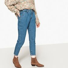La Redoute Collections Womens Ankle Grazer Mom Jeans, Length 26.5