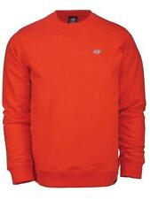 DICKIES felpa SEABROOK uomo ORANGE skate surf snow AI18
