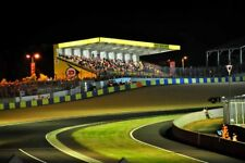 24 Hours of Le Mans 2017 motor racing at night photograph picture poster print