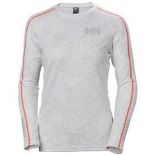 Helly Hansen Lifa Active Graphic Crew White / Winter Berry Print , Ropa interior