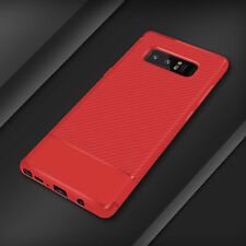 Case Cover For Samsung Galaxy S8,S9 Luxury Shockproof Carbon Fiber Slim Soft TPU