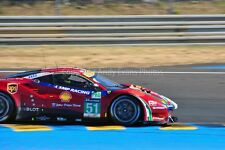 Ferrari 488 GTE no51 24 Hours of Le mans 2017 photograph picture poster print