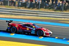 Ferrari 488 GTE no71 24 Hours of Le mans 2017 photograph picture poster print